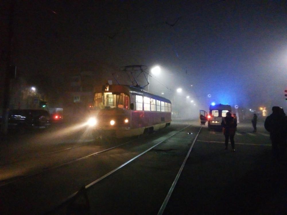 трамвай дтп