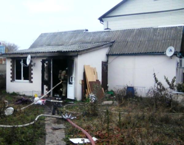 дом, пожар