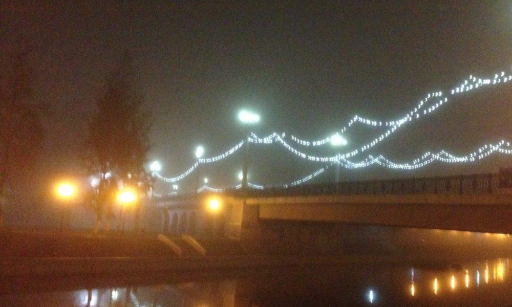 подсветка, Александровский мост