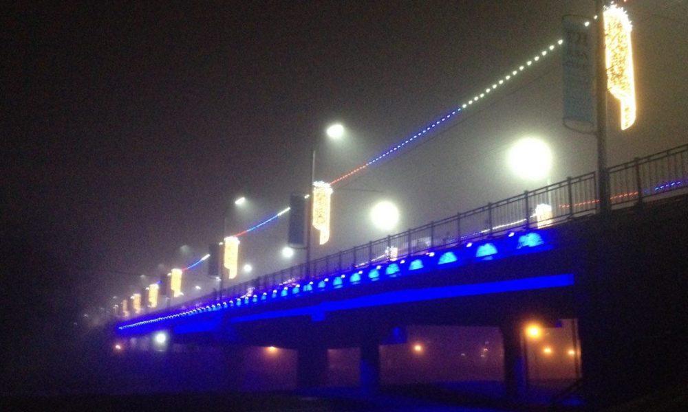 подсветка, Тургеневский мост