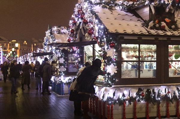 рождественский домик