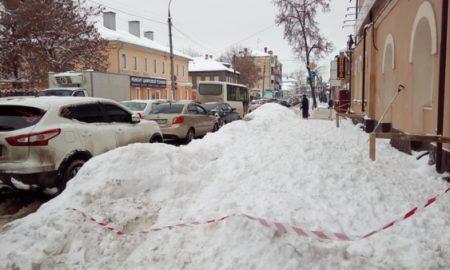 снег, наледь, тротуары
