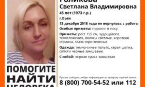 Светлана  Голикова