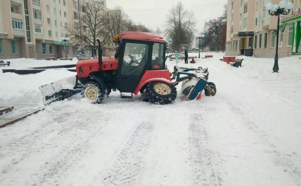 трактор без колеса