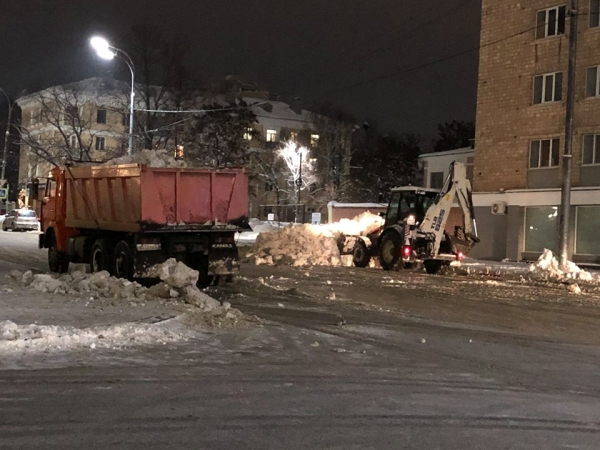 уборка, снег, техника