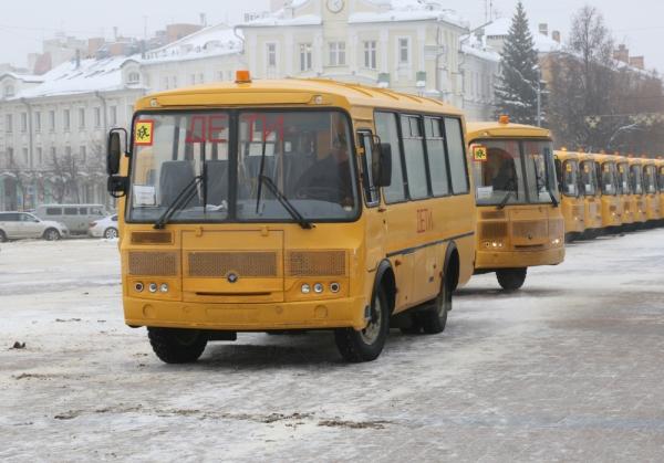 НаОрловщину поступили новые ученические автобусы идорожная техника