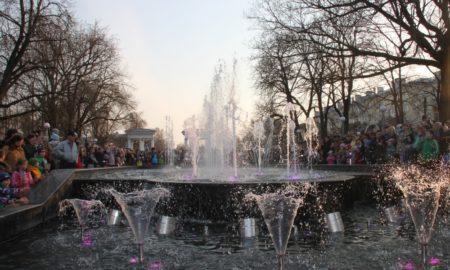 фонтан горпарк