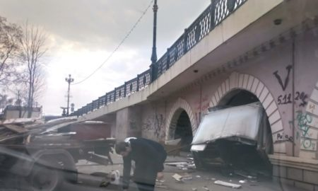 ГАЗель, мост