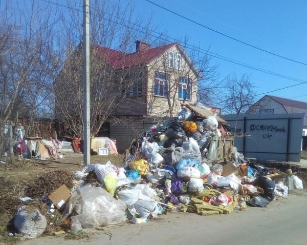 ул Элеваторная, мусор