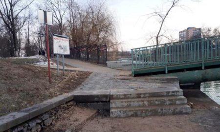 ступеньки мост Орлик