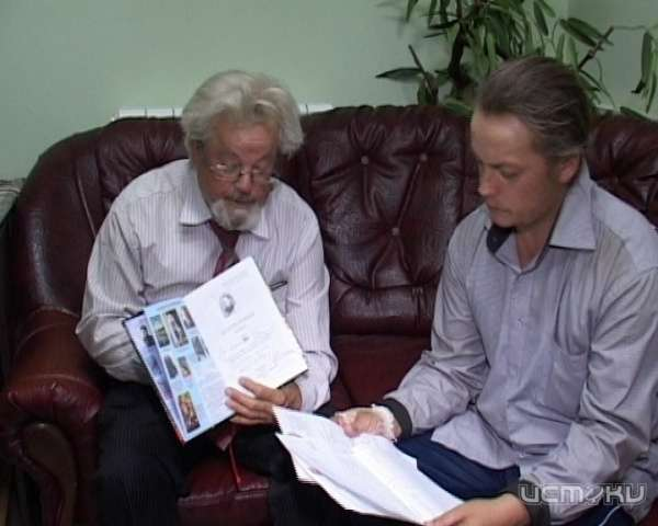 """Сергей (справа) и Виктор Рассохины / """"Истоки"""""""