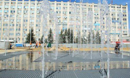 фонтан площадь содружества