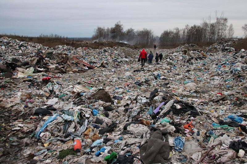 свалка, кромы, мусор