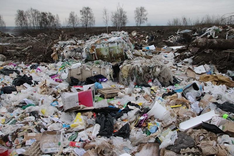 свалка, мусор
