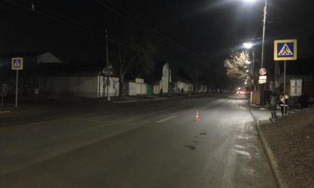 ДТП, сбил пешехода, пешеходный переход