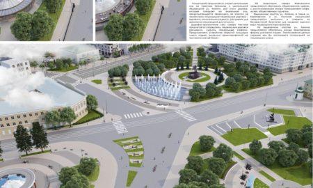 сквер Ермолова, проект