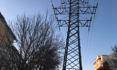 лэп, электричество, провода, столб