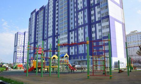 новостройки, Орелстрой, детская площадка