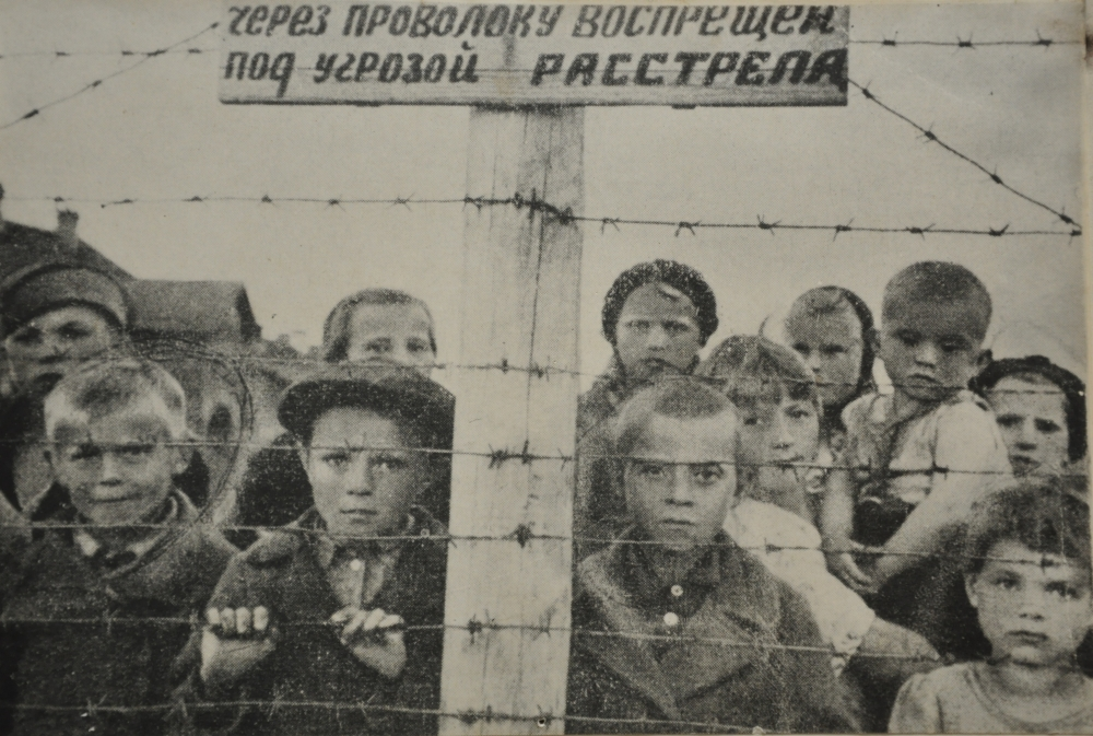 дети войны, малолетние узники