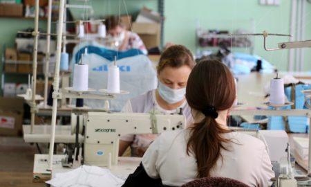 швея, шитье, маски, легкая промышленность
