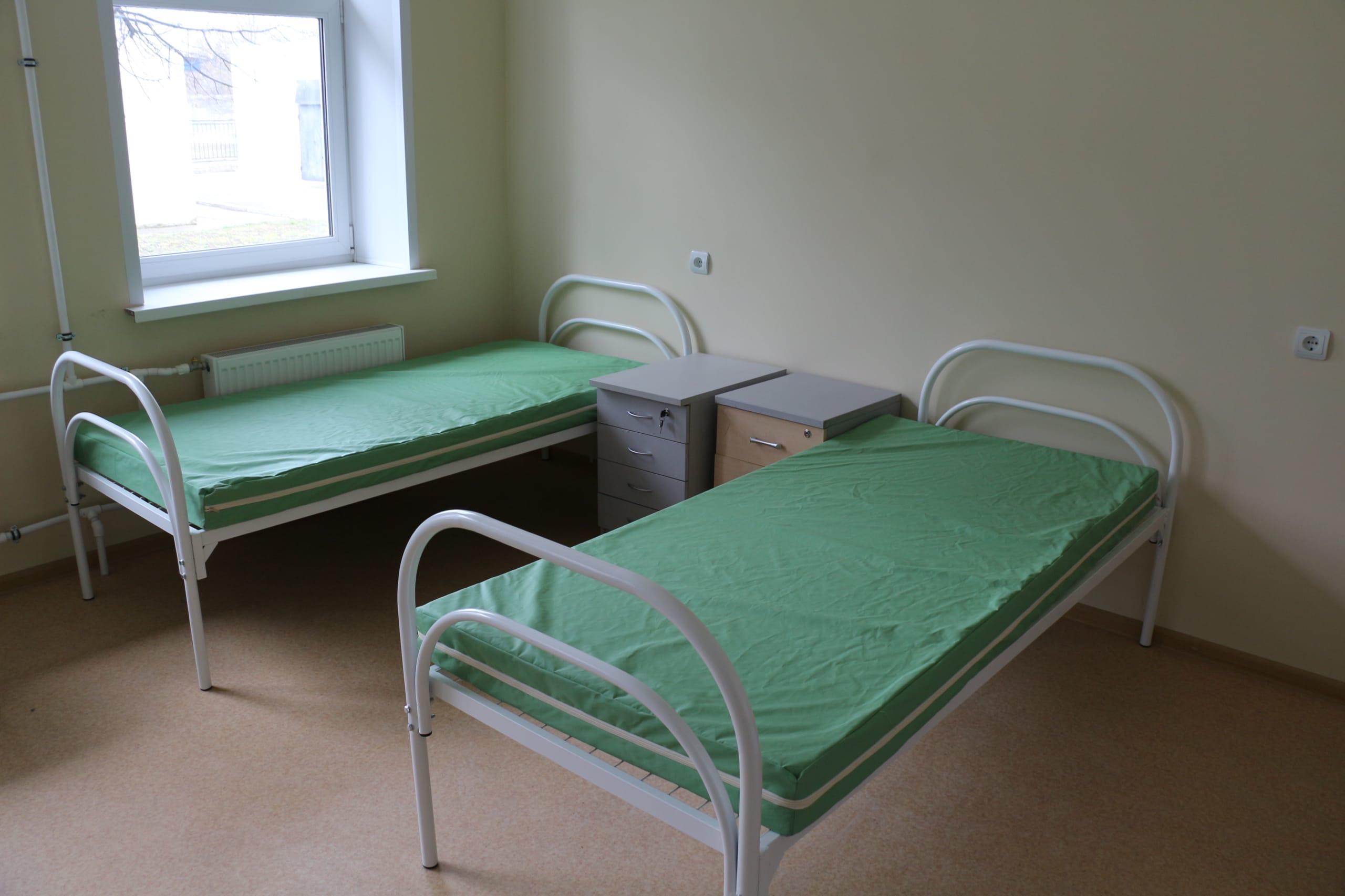 больница, палата, койки
