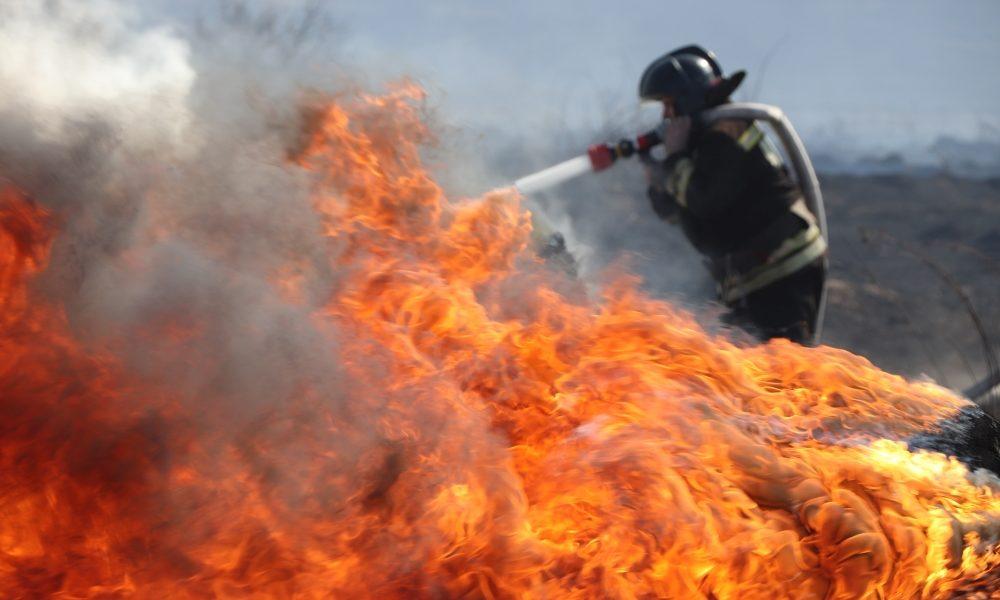 пожар, мчс, пожарные, пал