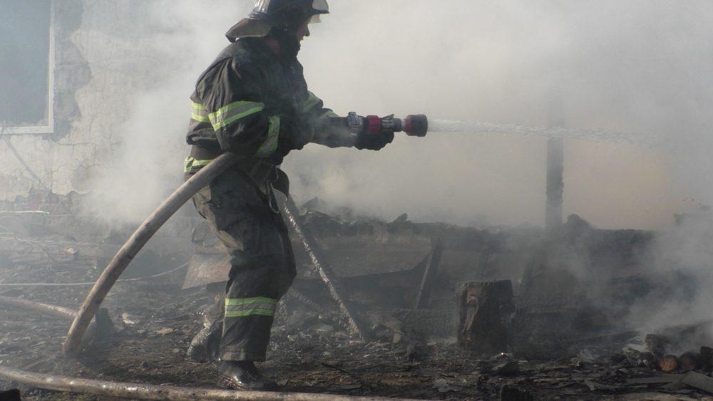 пожар, мчс, пожарные