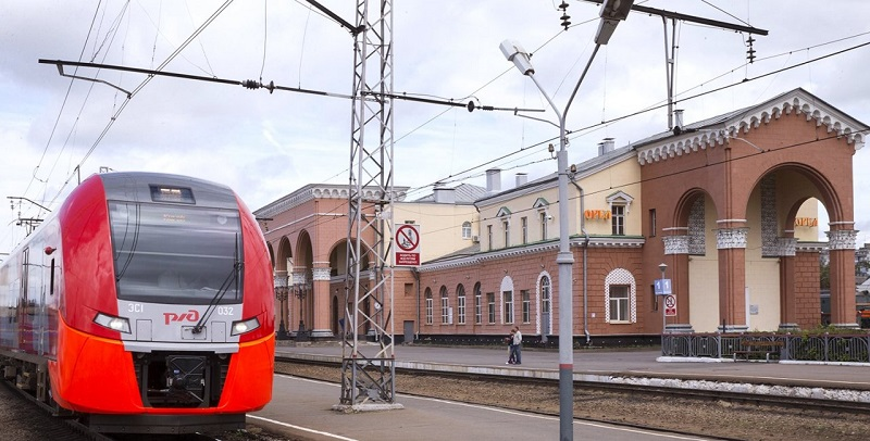 вокзал, РЖД, поезд