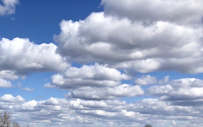 небо, облака, погода