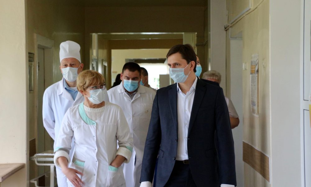 клычков _пандемия, медики, врачи, больница