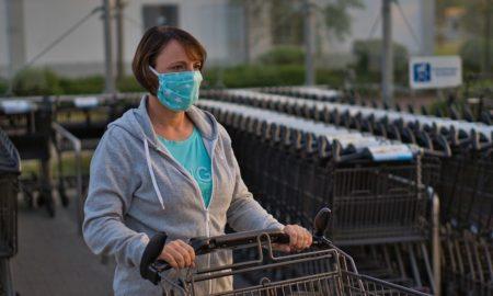 коронавирус, магазин, маска