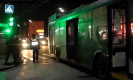 троллейбус, ДТП