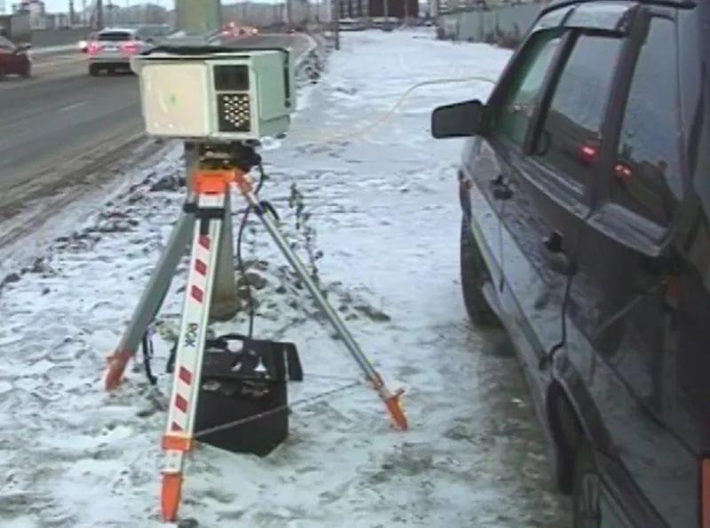 камера на дороге