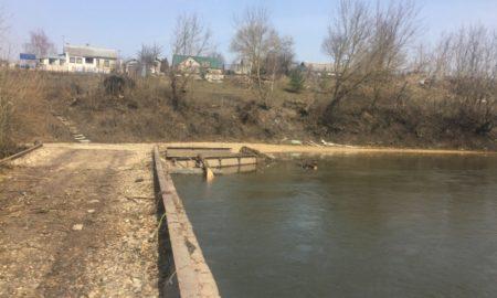 мост, потоп