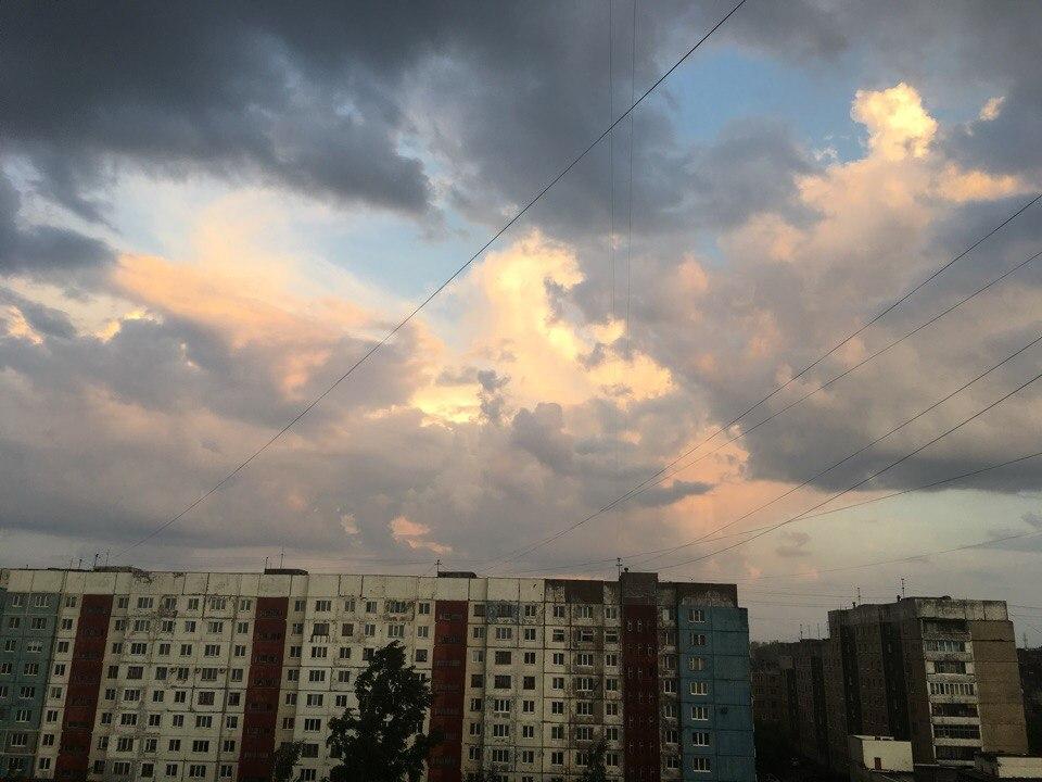 погода, гроза