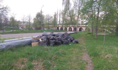 мусор в мешках