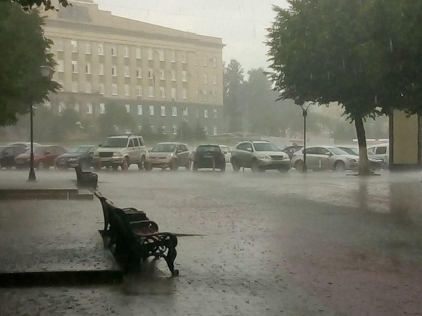ливень, непогода, дождь