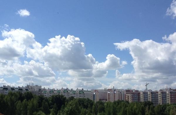 многоэтажки, дома, город