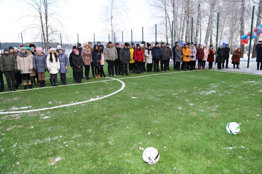муханово, футбольное поле