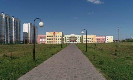 Орелстрой, школа, строительство