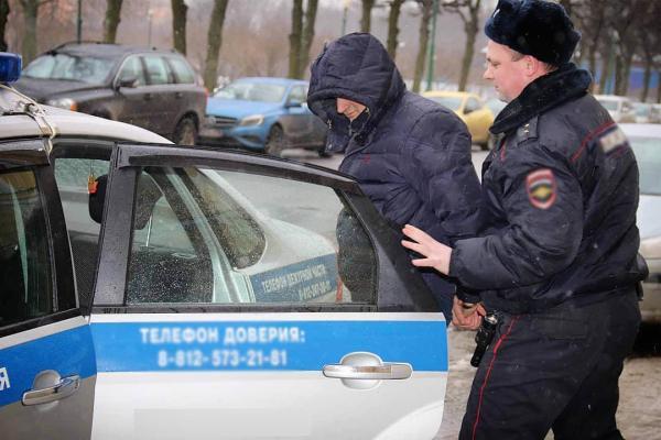 полиция, преступник, задержание