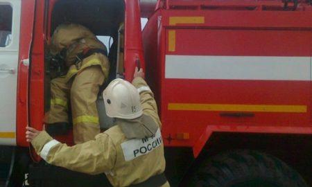 пожарные, машина
