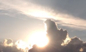 погода, тучи, солнце
