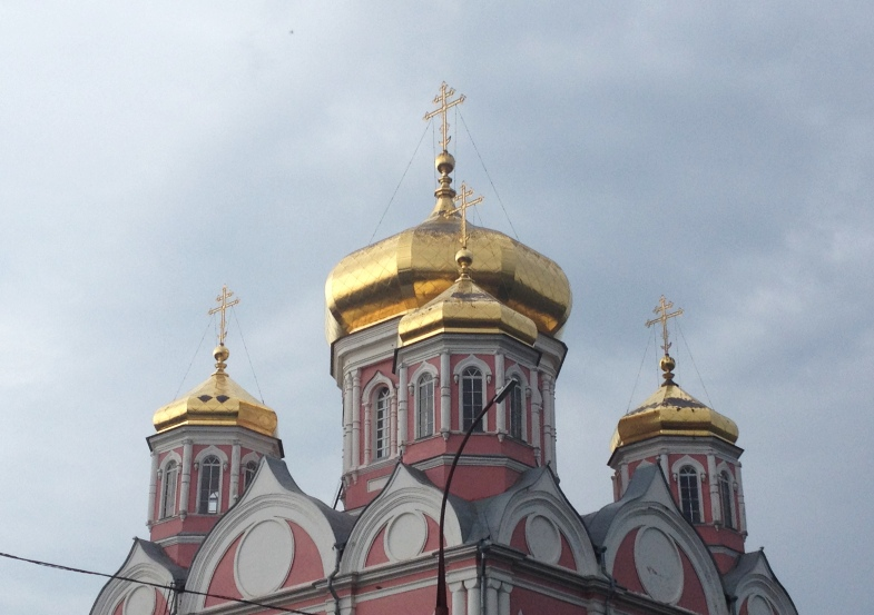 купола, храм