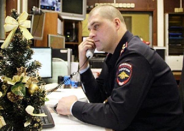 полиция, новый год