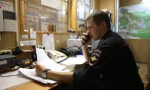 полиция, дежурная часть