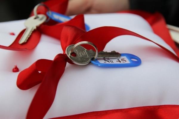 ключи, новоселье, жилье сиротам