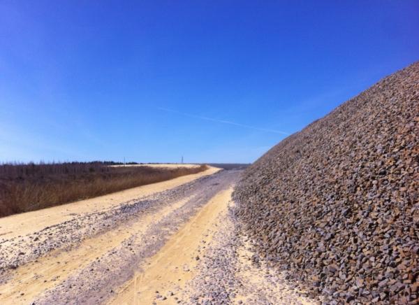 ремонт дороги, Нарышкино