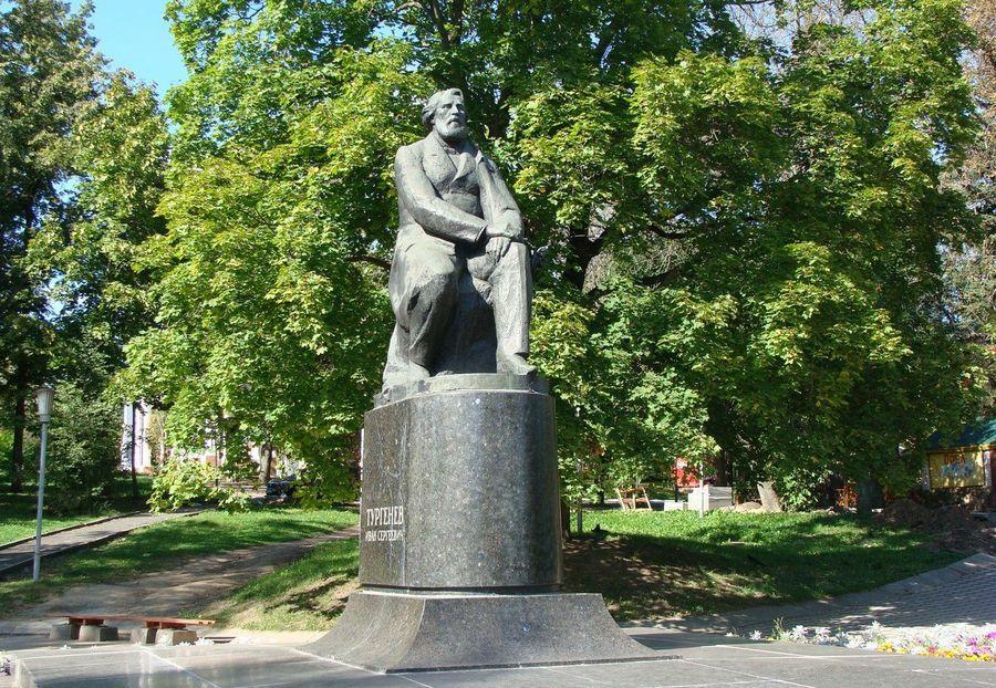 памятник Тургеневу