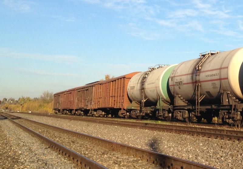 поезд, рельсы